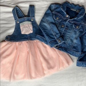 First Impressions Dress and Jean Jacket